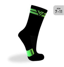 Versus Versus Double Green (Trail) Socks Size 7-11