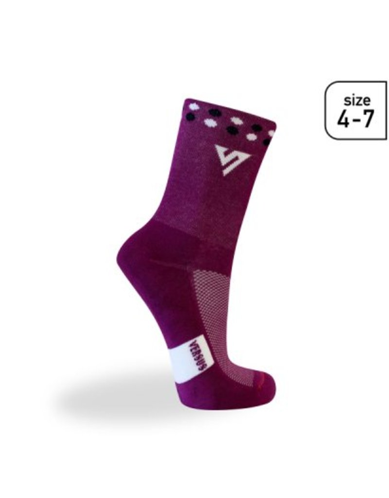 Versus Versus Purple (Trail) Socks Size 4-7