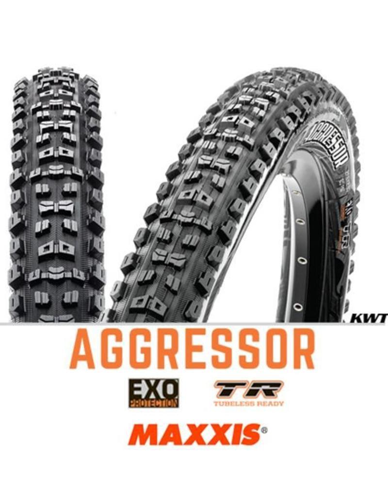 MAXXIS Maxxis Aggressor 27.5 x 2.30 EXO TR BLACK
