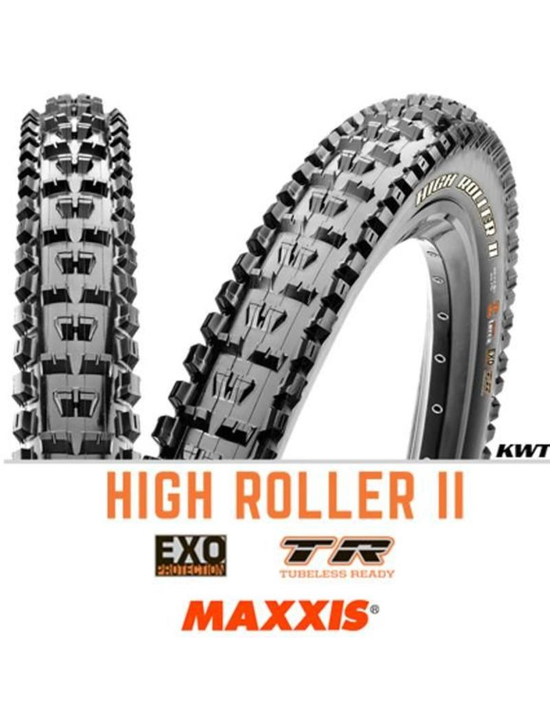 MAXXIS Maxxis High Roller II 27.5 x 2.3 EXO TR BLACK