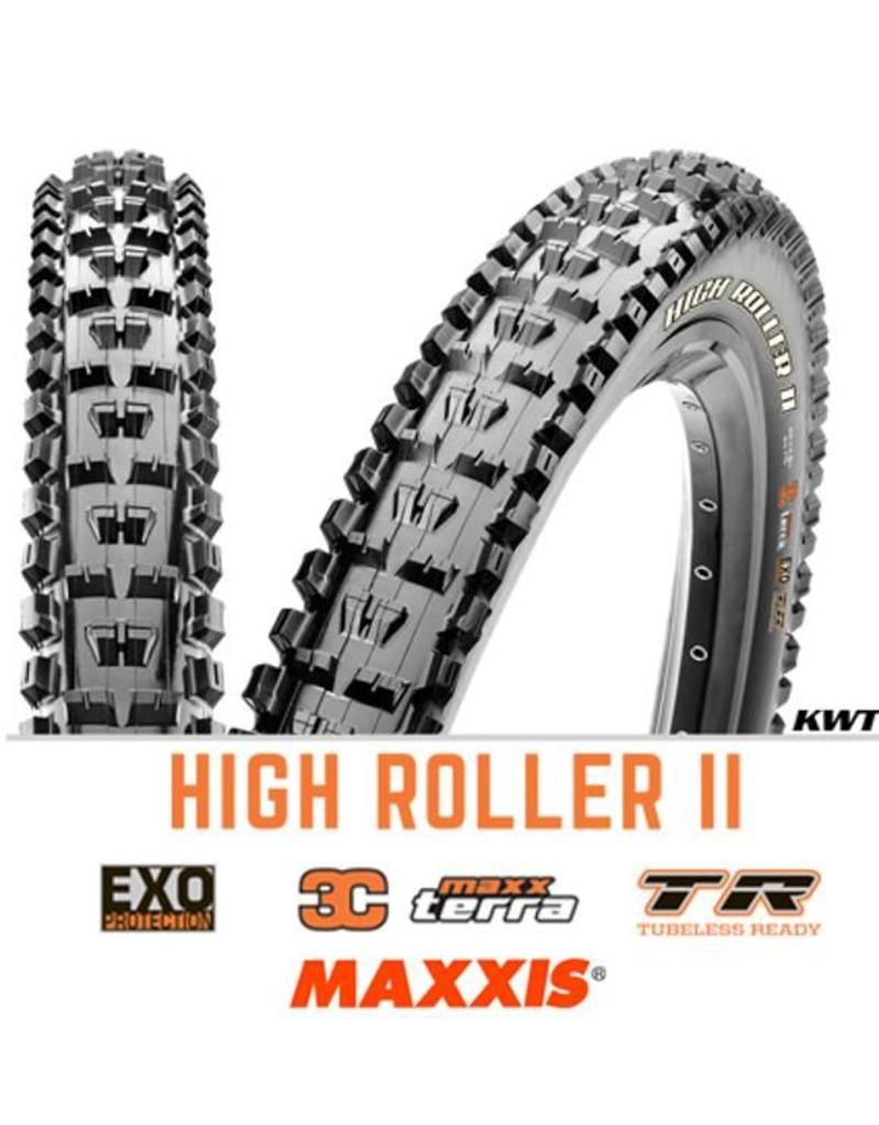 MAXXIS Maxxis High Roller II 27.5 x 2.3 EXO 3C TR BLACK