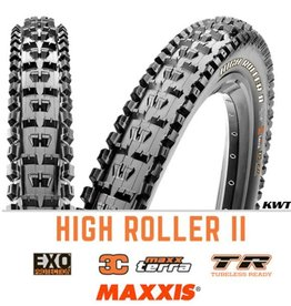 MAXXIS Maxxis High Roller II 27.5 x 2.4 EXO 3C TR BLACK