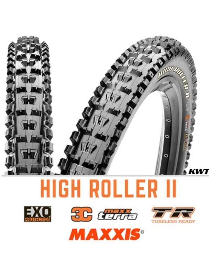 MAXXIS Maxxis High Roller II 27.5 x 2.4 EXO 3C TR BLACK