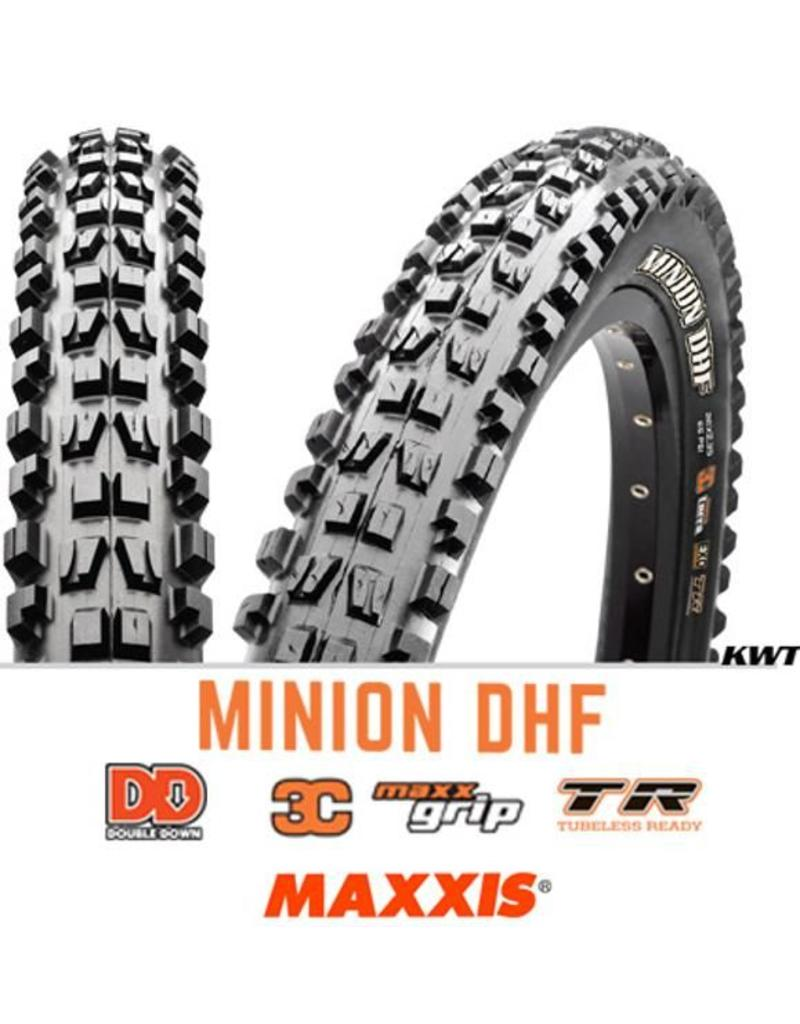 MAXXIS Maxxis Minion DHF 27.5 x 2.5 DD TR 3C MG BLACK