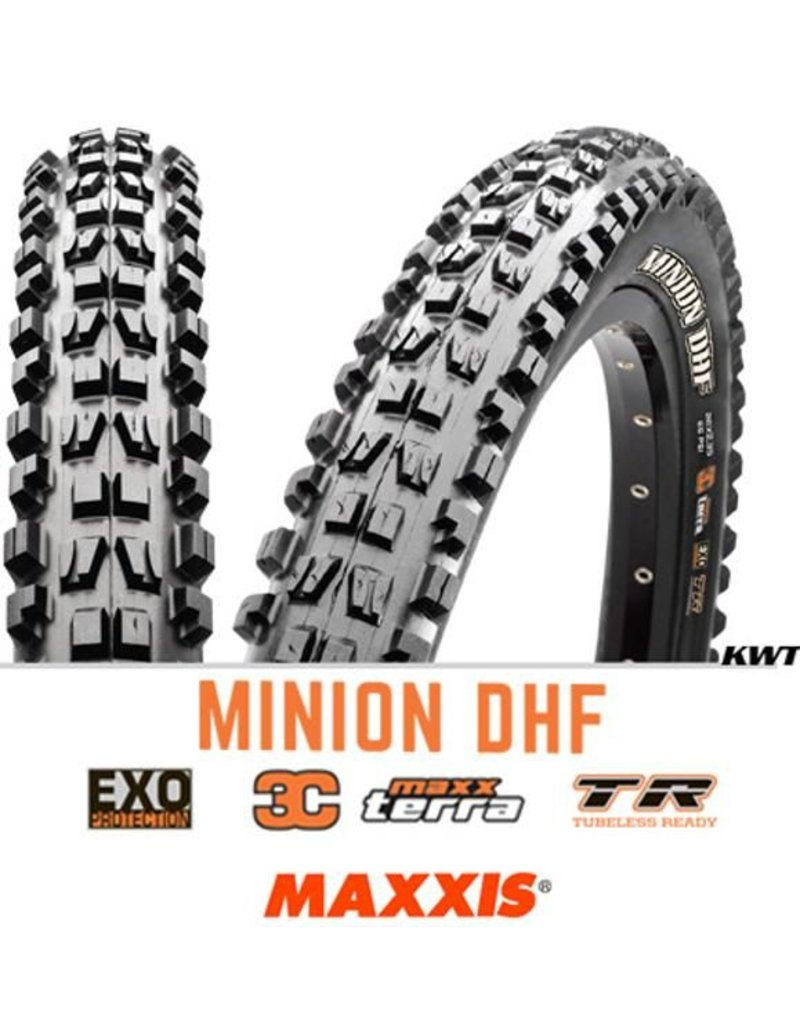 MAXXIS Maxxis Minion DHF 29 x 2.3 EXO 3C TR BLACK