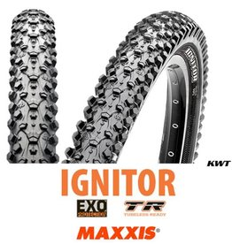 MAXXIS Maxxis Ignitor 27.5 x 2.10 EXO TR BLACK