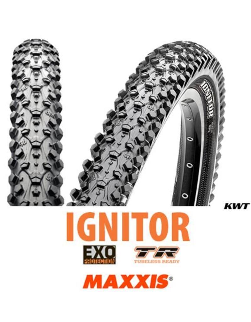 MAXXIS Maxxis Ignitor 27.5 x 2.10 EXO TR BLACK