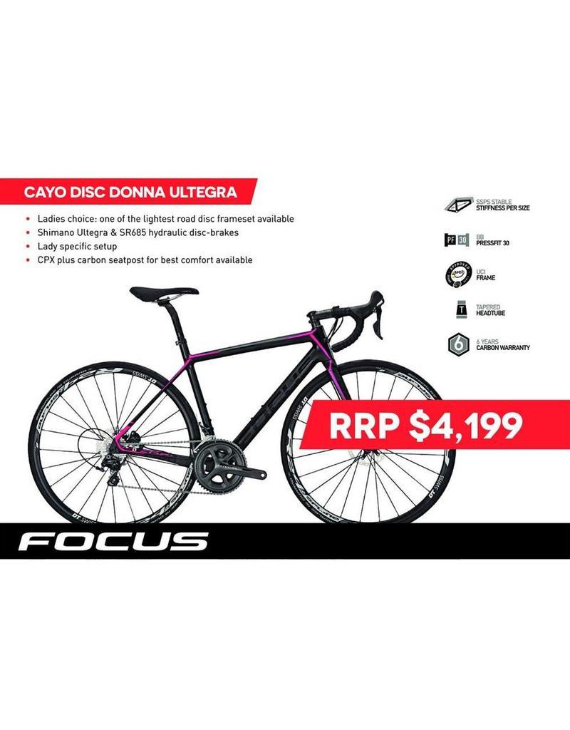 Focus Focus Cayo Disc Donna Ultegra 51cm
