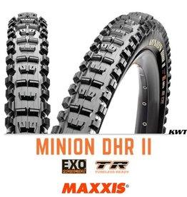 MAXXIS MAXXIS Minion DHR II 26 x 2.5 EXO TR WT 60TPI Black