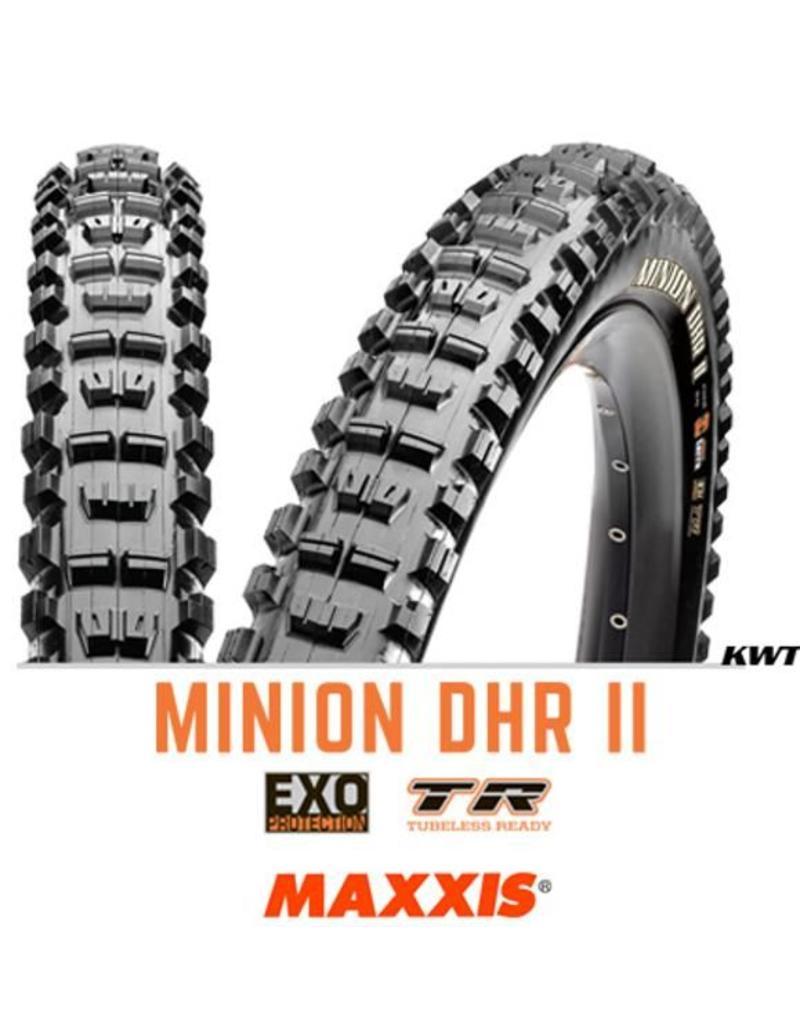 MAXXIS MAXXIS Minion DHR II 27.5 x 2.4 EXO TR WT 60TPI Black