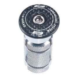 "BBB BBB PowerHead A-Head Plug 1-1/8"" Carbon"