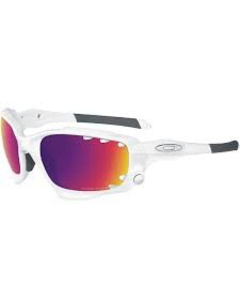 Oakley Oakley Racing Jacket White Grey/Clear Lens