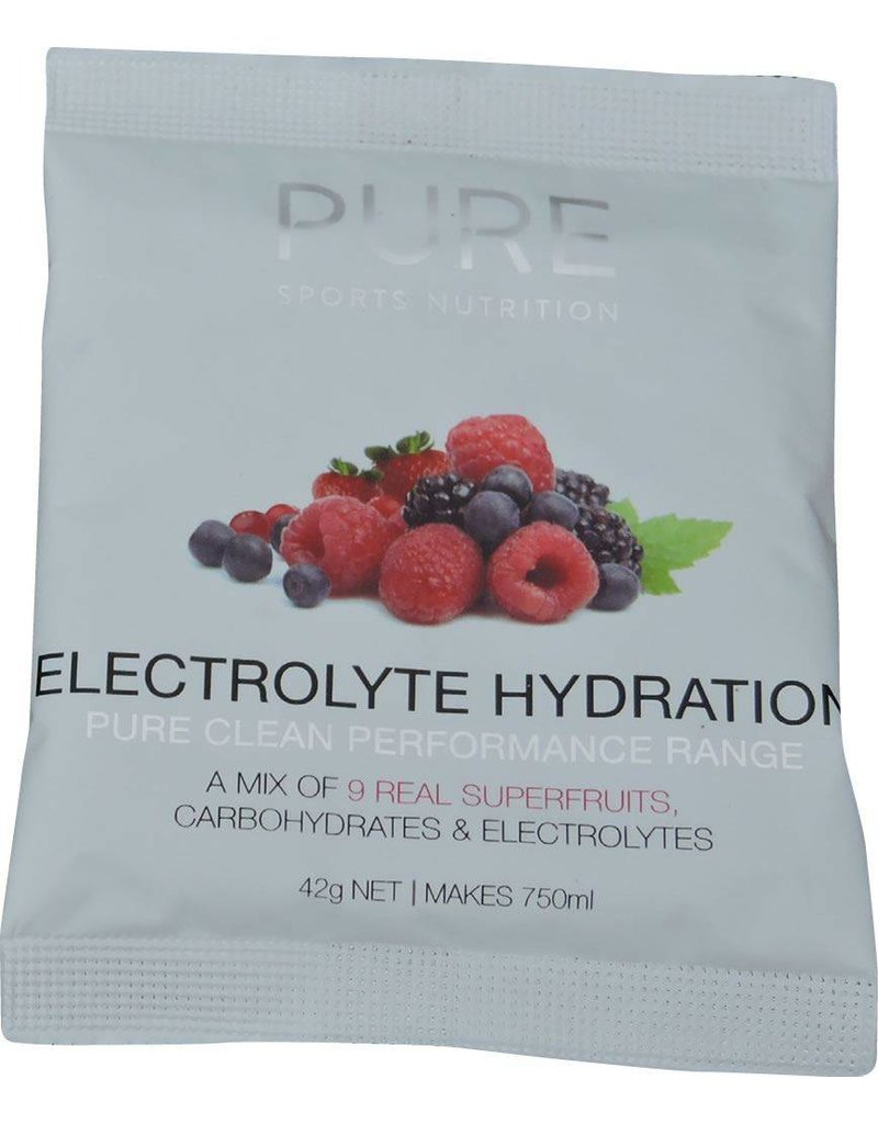 Pure Sports Nutrition Pure Electrolyte Hydration Sachets Superfruits 42Grames