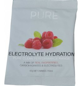 Pure Sports Nutrition Pure Electrolyte Hydration Sachets Raspberry 42Grames
