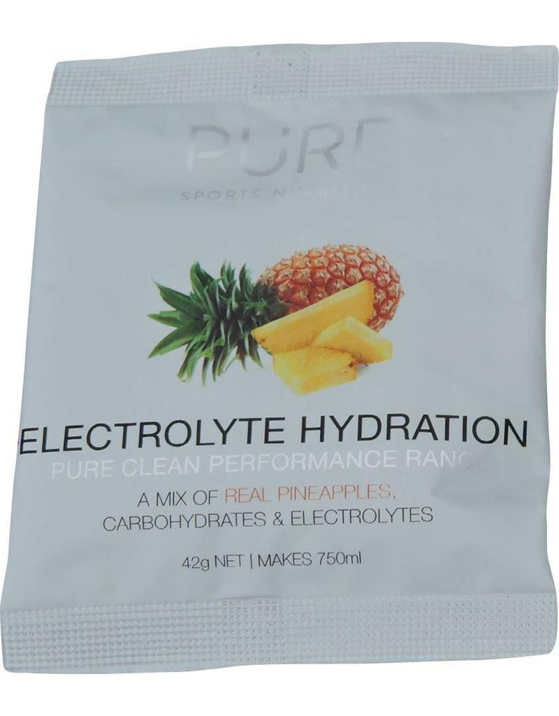 Pure Sports Nutrition Pure Electrolyte Hydration Sachets Pineapple 42Grames