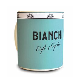 Bianchi Bianchi Cafe and Cycles Mug