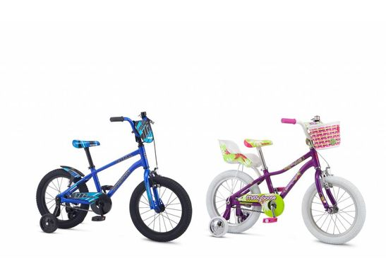 Kids Bikes 16Inch (Ages 4-6)