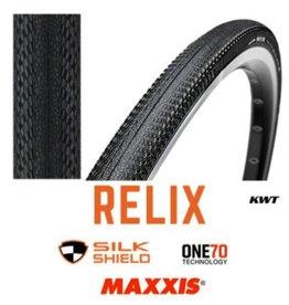 MAXXIS Maxxis Relix 700 x 23c Folding Black