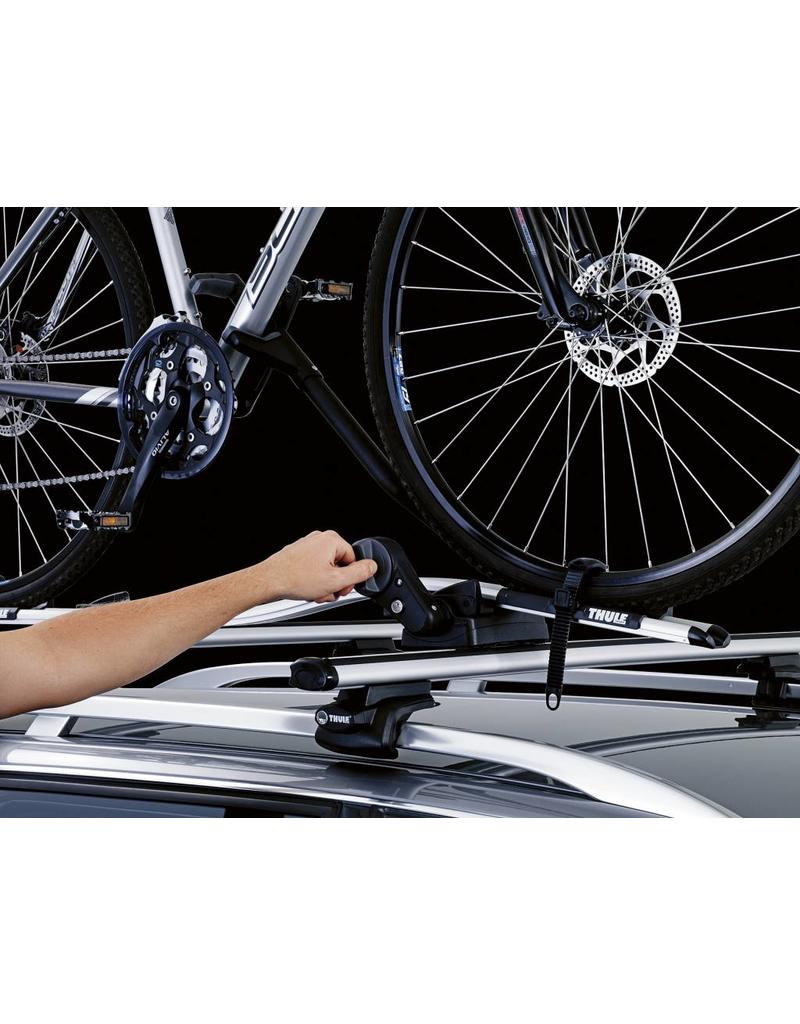 Thule Thule ProRide 591040 Twin Pack Silver (Roof Mounted)