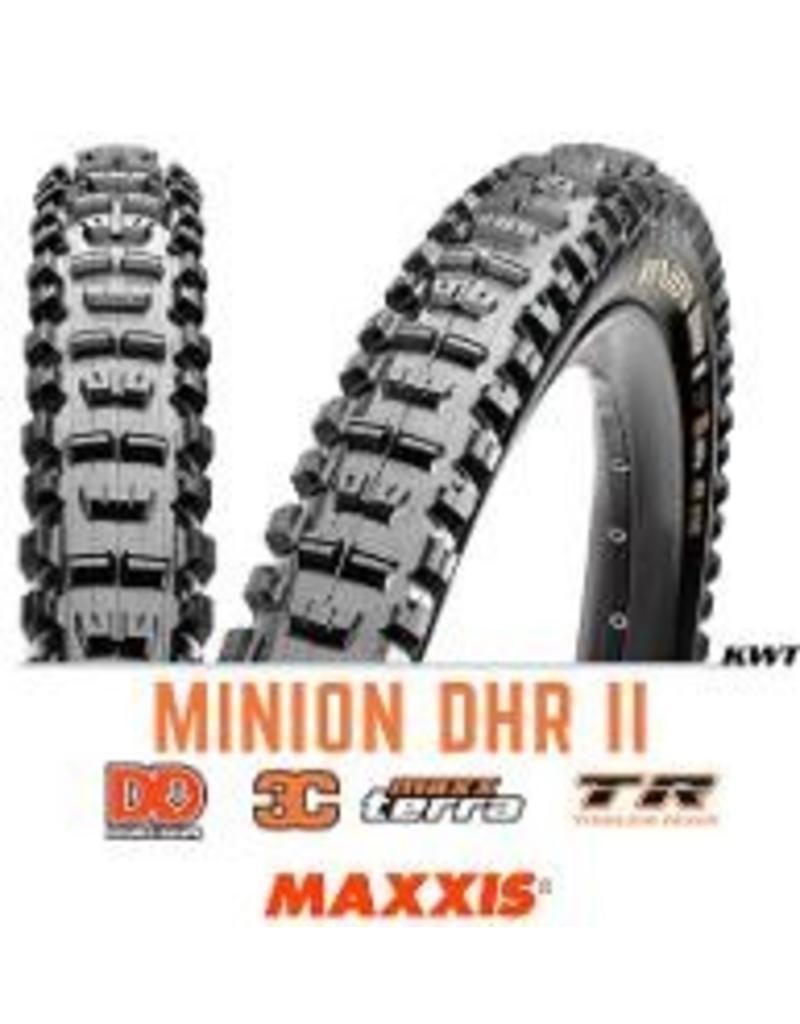 MAXXIS Maxxis Minion Front 27.5 x 2.3 DD 120 TPI 3C TR BLACK