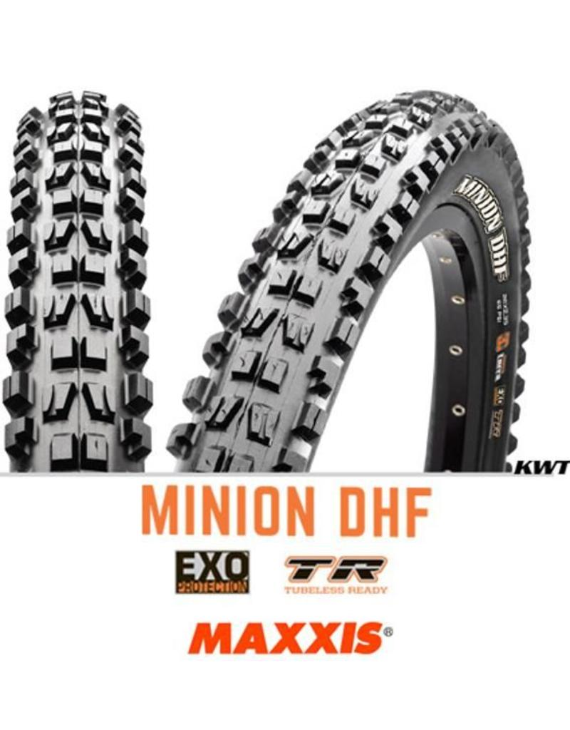 MAXXIS MAXXIS Minion DHF 27.5 x 2.5 WT EXO TR 60TPI BLACK