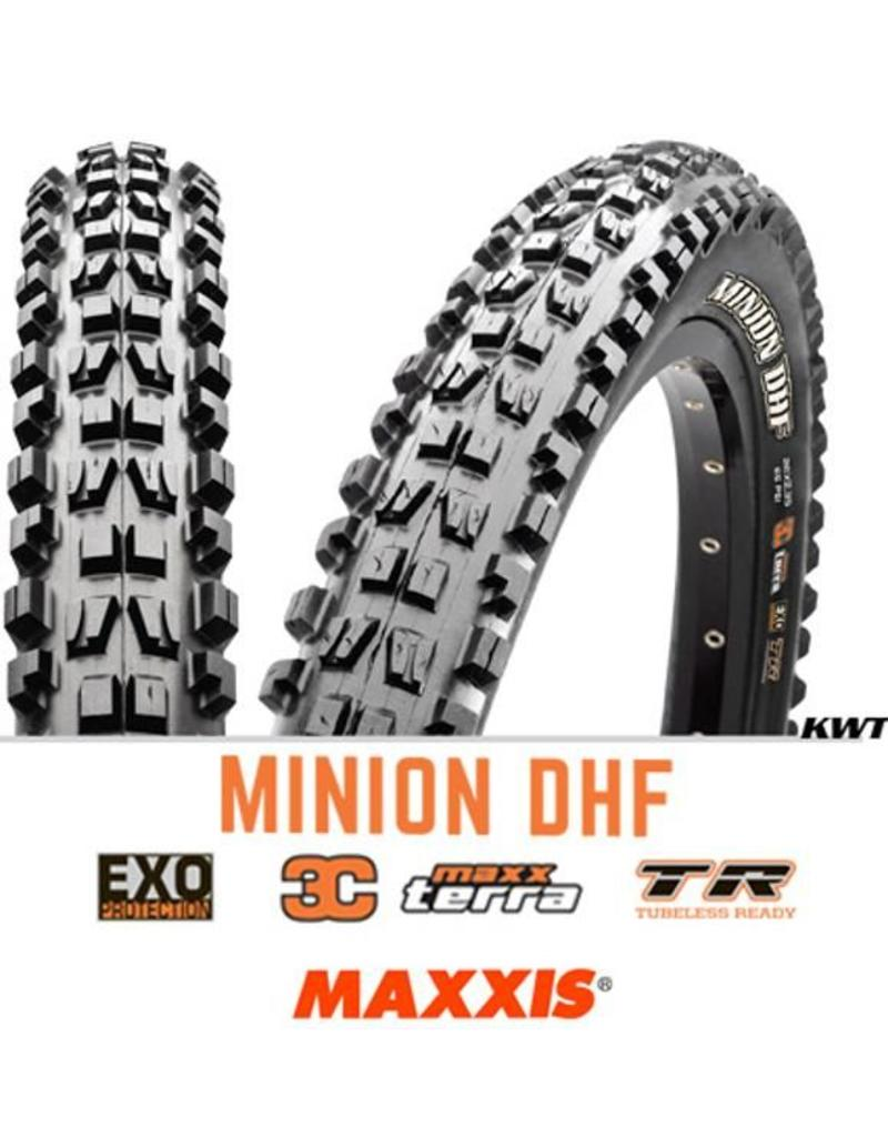 MAXXIS MAXXIS Minion DHF 27.5 X 2.5 WT FOLD EXO 60TPI 3C MAXTERRA TR