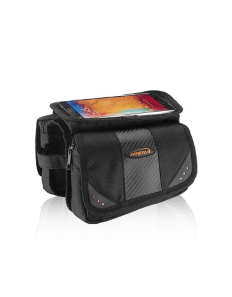 Ibera top tube pouch with phone case