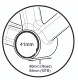 TriPeak BB86/92-shimano 24 Ceramic Bottom Bracket