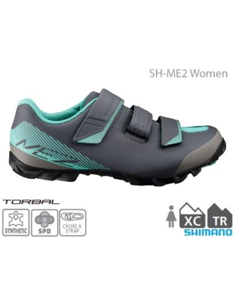Shimano Shimano Me200 SPD Women's Shoe Green/Grey