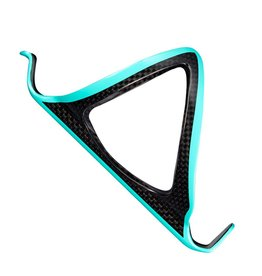 Supacaz Bottle Cage Fly Carbon Celeste