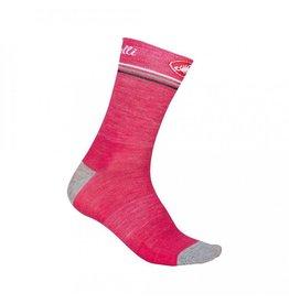 Castelli Castelli Atelier 13cm Sock  Raspberry Small/Medium
