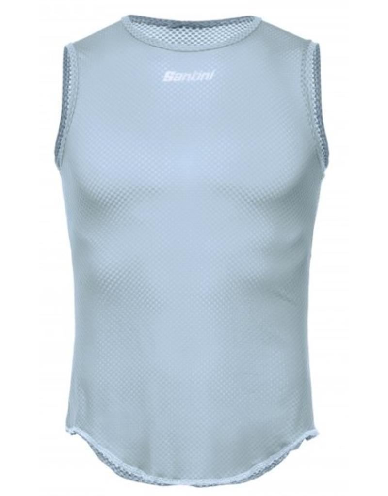 Santini Santini Baselayer Sleevless Lieve Blue Medium