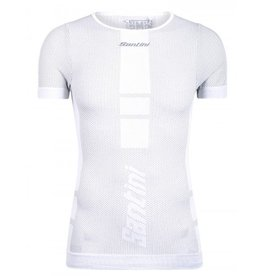 Santini Carbon Baselayer Under Shirt White
