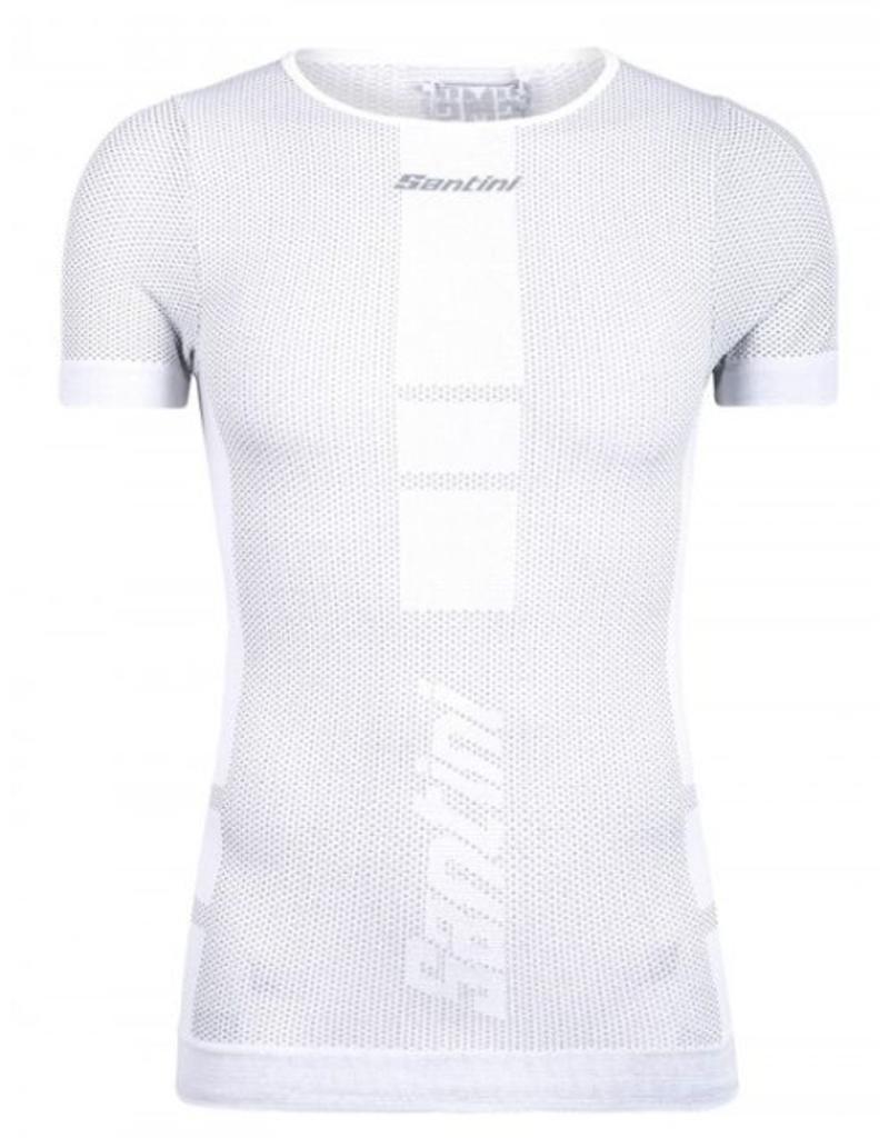 Santini Carbon Baselayer Under Shirt White
