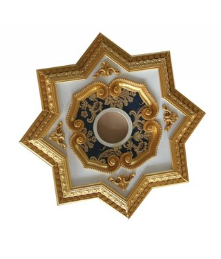 B&S Lighting B&S LIGHTING INC STAR2S071-32 INCH CEILING MEDALLION