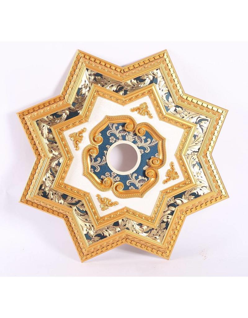 B&S Lighting B&S LIGHTING STAR2S071-39 INCH CEILING MEDALLION