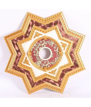 B&S Lighting B&S LIGHTING INC STAR2S072-32 INCH CEILING MEDALLION
