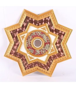 B&S Lighting B&S LIGHTING INC STAR2S072-52 INCH CEILING MEDALLION
