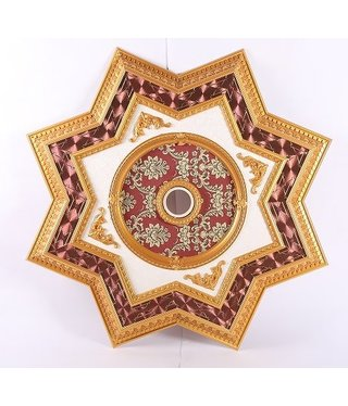 B&S Lighting B&S LIGHTING INC STAR2S072-64 INCH CEILING MEDALLION