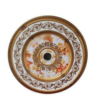B&S Lighting B&S LIGHTING RND2F2023-39 INCH CEILING MEDALLION INCH