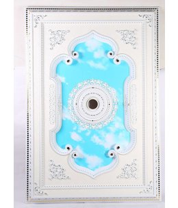 B&S Lighting B&S LIGHTING REC1W022-55X80 INCH CEILING MEDALLION