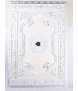 B&S Lighting B&S LIGHTING REC5NB001-55X80  INCH CEILING MEDALLION