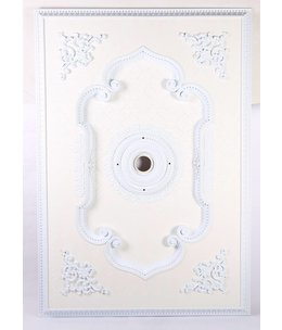 B&S Lighting B&S LIGHTING REC1NB001-55X80 INCH CEILING MEDALLION