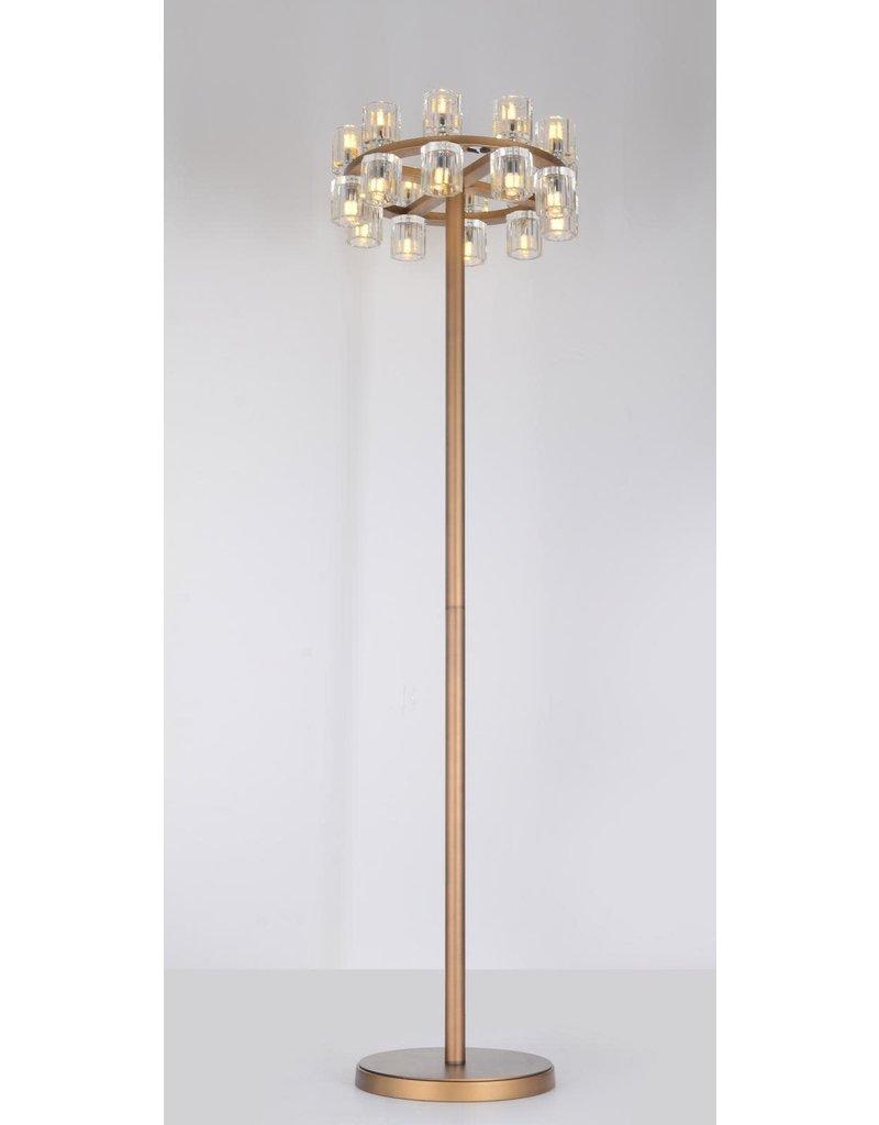 KYOTO FLOOR LAMP 24 X 52 - 20 LIGHTS