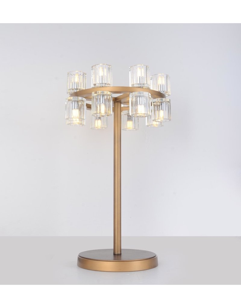 KYOTO TABLE LAMP 12 X 24 - 16 LIGHTS