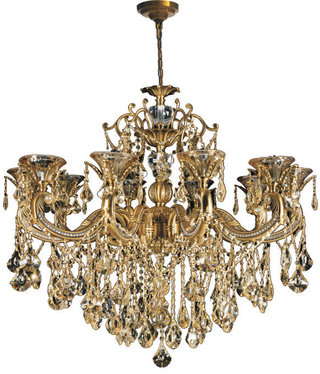 86029W40AG 40 X 52- 12 LIGHTS - ANTIQUE GOLD