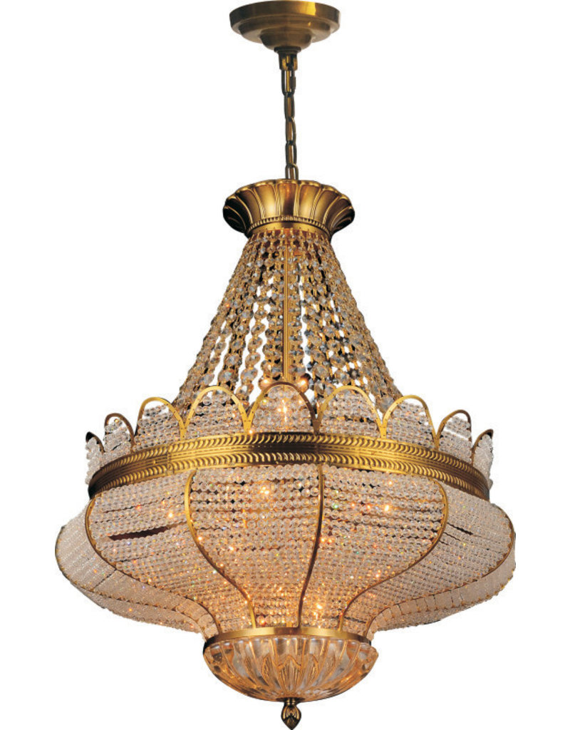 68880P28AG 10 LIGHTS ANTIQUE GOLD