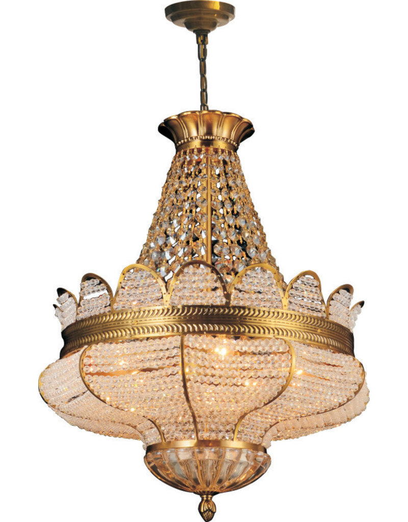 68880P19AG 9 LIGHTS ANTIQUE GOLD