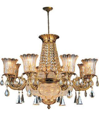 68880W34AG 14 LIGHTS ANTIQUE GOLD
