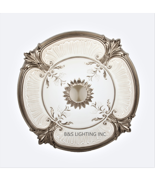 B&S Lighting B&S LIGHTING MDPU2001-26 INCH CEILING MEDALLION